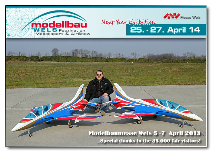 Modellbaumesse Wels Airshow